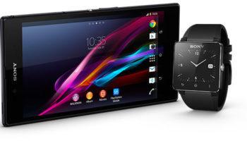 Xperia Z Ultra et SmartWatch 2 : prix et disponibilités en France