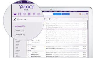 Yahoo Mail annonce le support pour les comptes Gmail