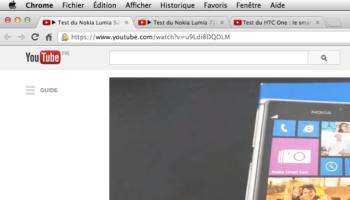 YouTube ajoute une nouvelle icône de lecture dans les onglets du navigateur