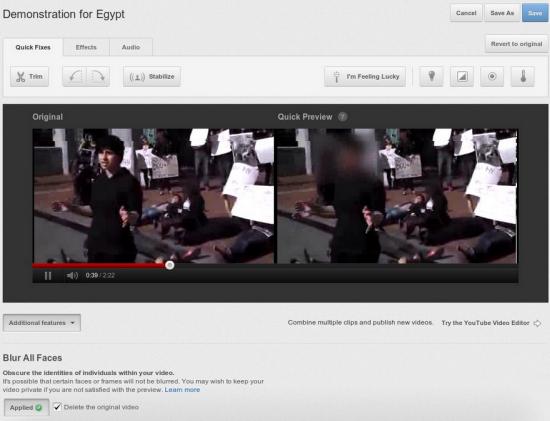 youtube floute maintenant au maximum les visages des anonymes. Black Bedroom Furniture Sets. Home Design Ideas