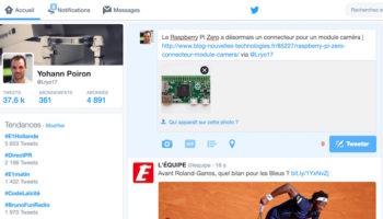 La limite de 140 caractères de Twitter pourrait bientôt exclure les photos et les liens