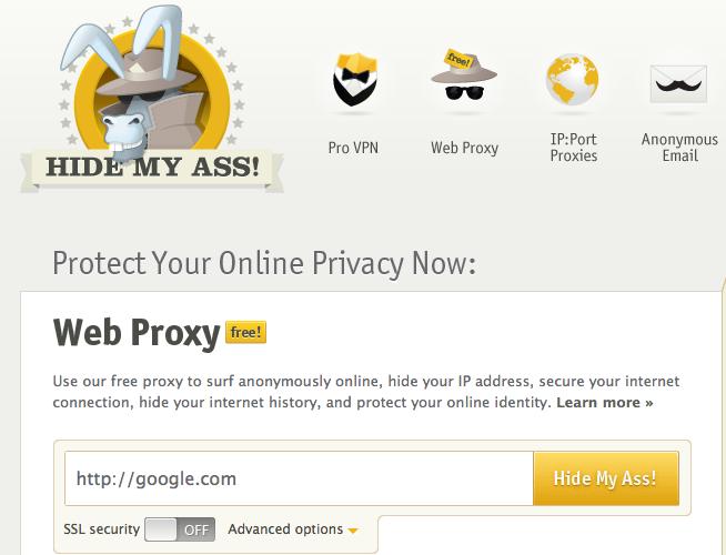 5 outils pour surfer anonymement sur le Web – HideMyAss