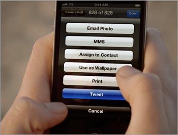 Apple pourrait davantage se tourner vers Facebook que Twitter ?