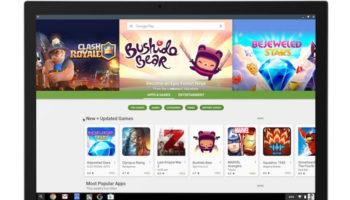 Les applications Android et le Play Store arrivent sur Chrome OS en juin