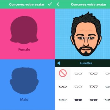 Bitmoji vous permet de créer votre emoji sur iOS et Android