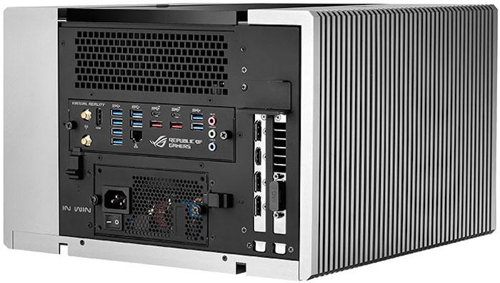 Computex 2016 : ASUS ROG Avalon : vue de dos