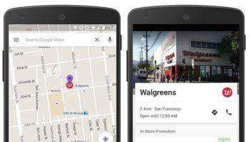 Davantage de publicités arrivent sur Google Maps