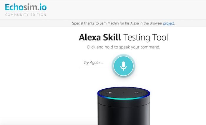 Le nouvel outil d'Amazon vous permet de tester Alexa dans votre navigateur