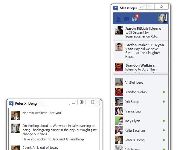 Facebook lance Messenger pour Windows, une version Mac arrive…