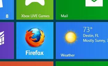 Firefox pour Windows 8 commence à prendre forme