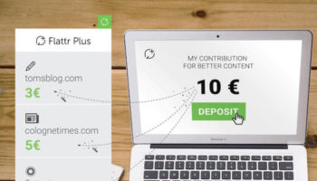 Flattr Plus va permettre de récompenser les sites que vous visitez le plus