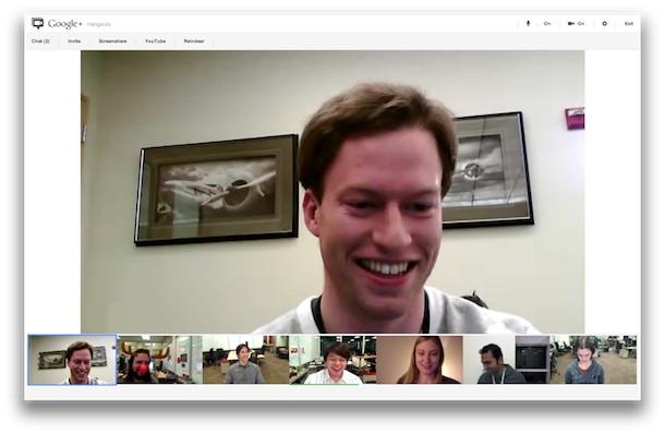 Google+ Hangout supporte désormais le partage d