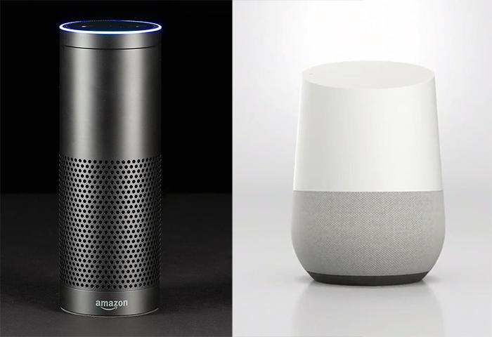 Amazon Echo vs. Google Home