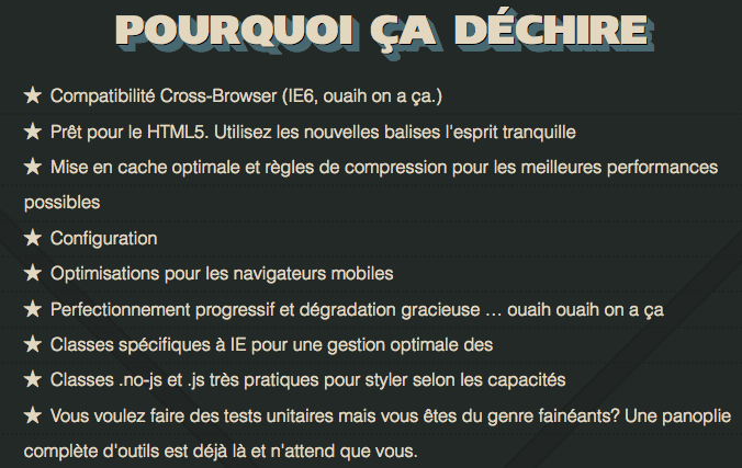 HTML5 Boilerplate hits 3.0 dans les bacs