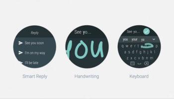 Android Wear 2.0 : meilleure reconnaissance de l'écriture manuscrite