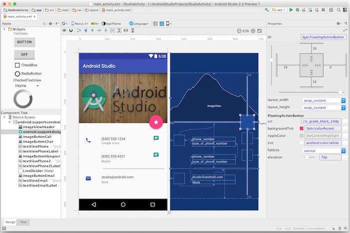 IO 2016 : Google publie Android Studio 2.2 Preview