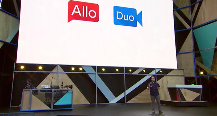 Google Duo et Google Allo