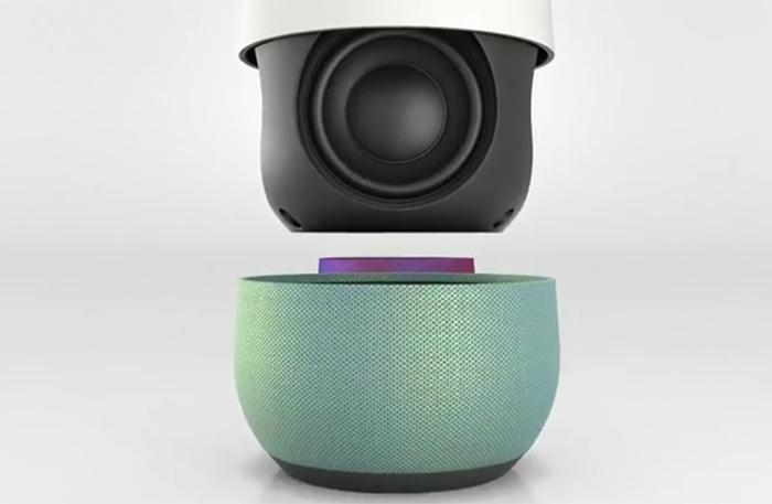Google Home : pleins de composants