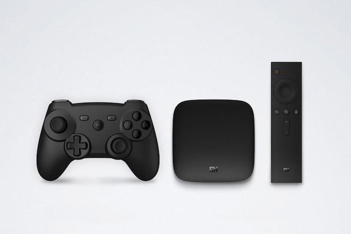 Xiaomi Mi Box et ses accessoires