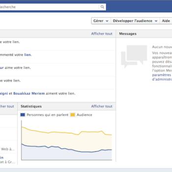 La Timeline Facebook pour les pages disponible dès maintenant !