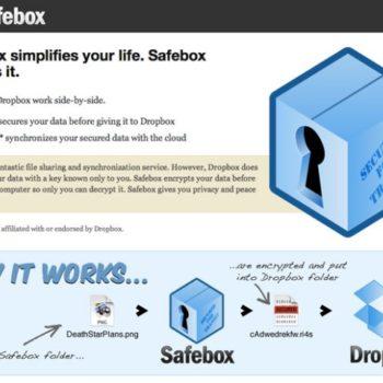 Les acteurs du Web en ont parlé [#22] – Safebox