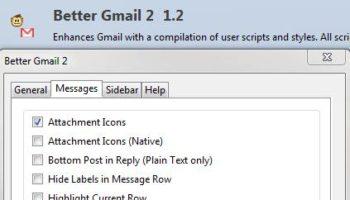Les acteurs du Web en ont parlé [#25] – Améliorer l'interface de Gmail sous Firefox, Better Gmail 2