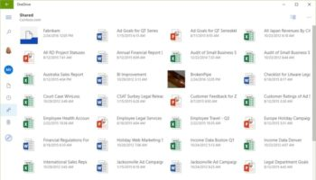 OneDrive devient plus agréable sur une tablette Windows !