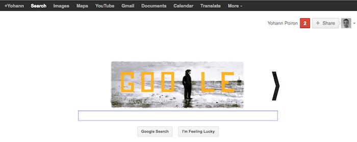Google ajoute Play à sa barre de navigation noire - Avant