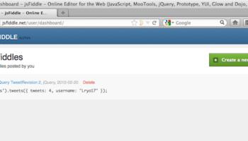 Rendre votre développement Web aisé avec jsFiddle – Interface utilisateur