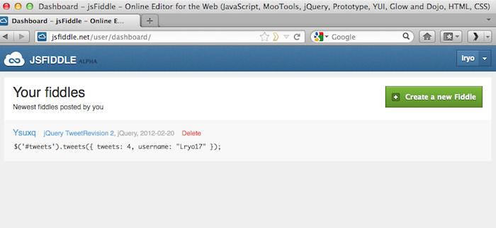 Rendre votre développement Web aisé avec jsFiddle - Interface utilisateur