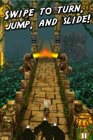 Temple Run pour Android est désormais disponible sur le Google Play Store