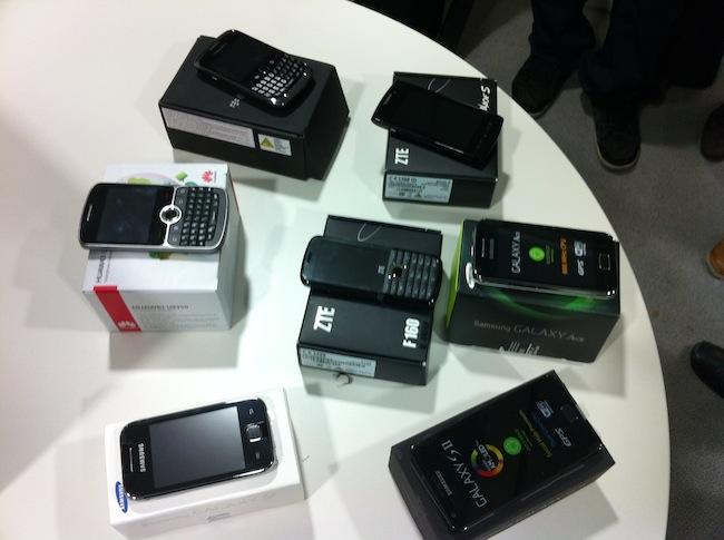 Un forfait, mais aussi des téléphones chez Free Mobile !