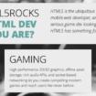 Un nouveau look pour HTML5Rocks.com – Nouvelles pages