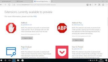 La dernière build Windows Insider renforce le navigateur Web Edge