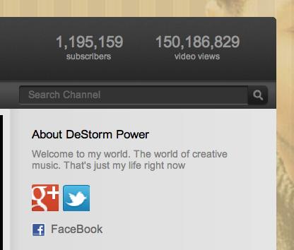 Youtube toujours un peu plus social – Profil Google+ dans Youtube