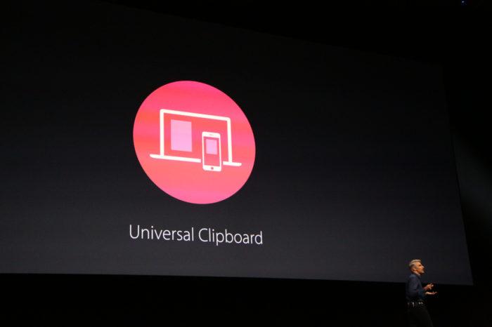 macOS Sierra : Universal Clipboard partage les copier/coller entre appareils