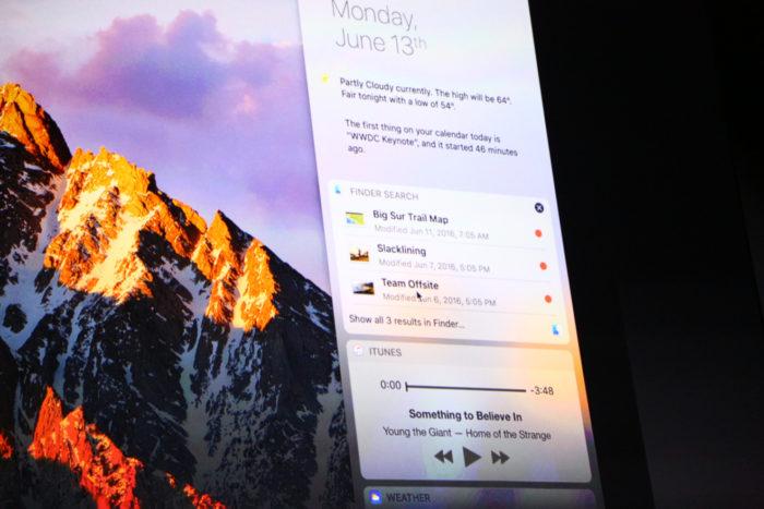 macOS Sierra : l'arrivée de Siri sur bureau !