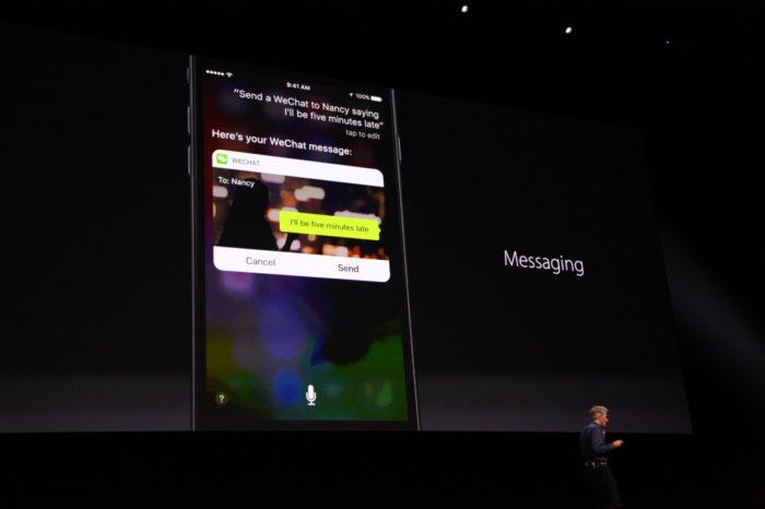 iOS 10 : Siri devient plus intelligent