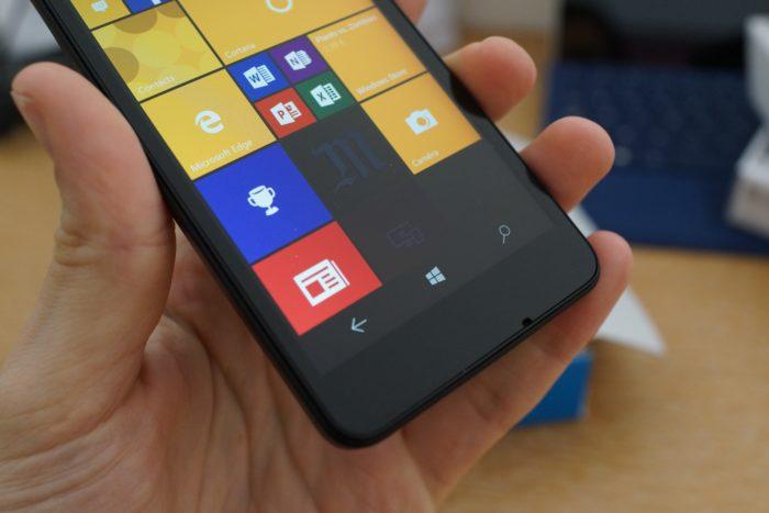 Lumia 550 : écran