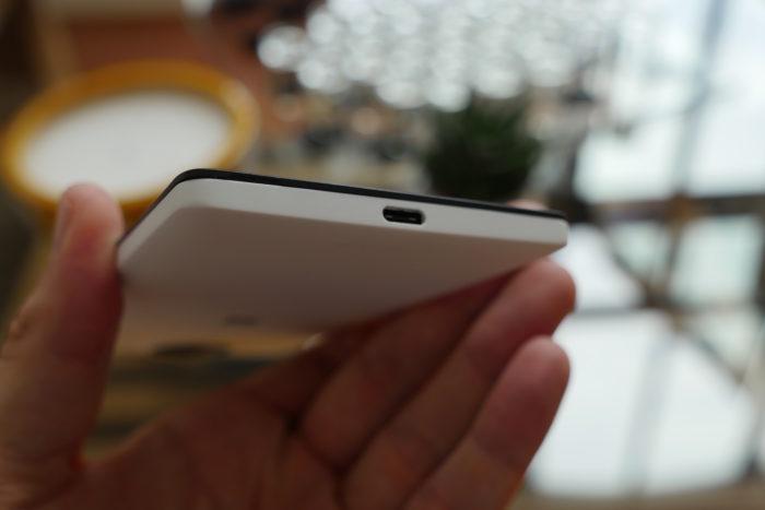 Microsoft Lumia 950 XL : vue de dessous