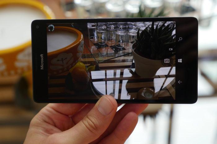 Microsoft Lumia 950 XL : caméra
