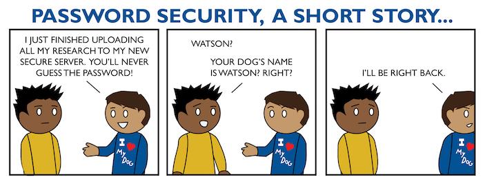 Une petite histoire sur la gestion d'un mot de passe