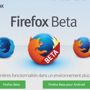Bêta de Firefox 48