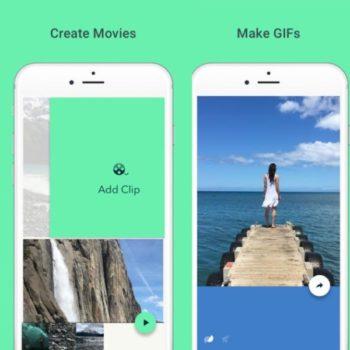 Google Motion Stills sur iOS