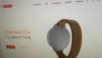 La OneWatch avait fait son apparition sur le site Web de l'entreprise