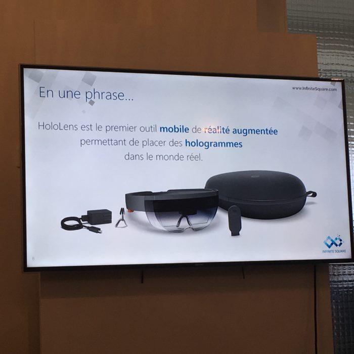 Infinite Square a la chance de posséder un HoloLens