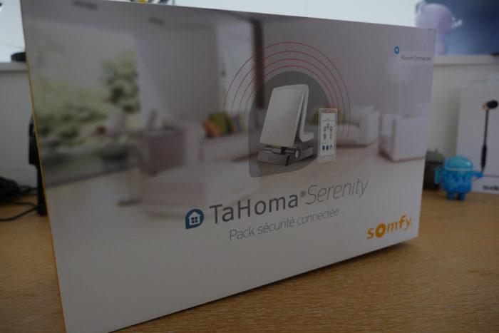 TaHoma Serenity - boîte
