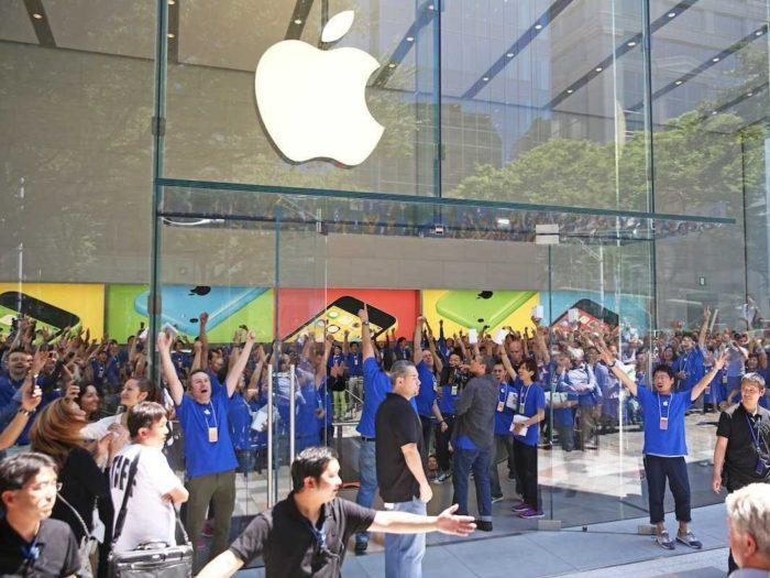 L'engouement autour des produits d'Apple est en baisse