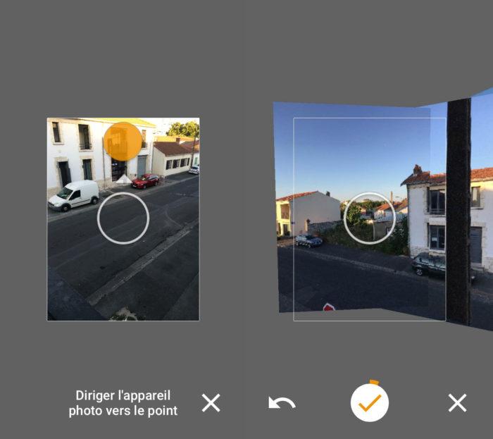Street View de Google permet de prendre des photos à 360 degrés