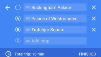 google-maps-destination-multiples
